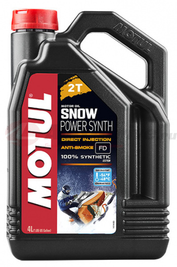 MOTUL Моторное масло SNOWPOWER SYNTH 2T (4 л.) 108210. Артикул: 108210
