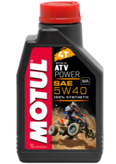 MOTUL Масло для квадроциклов ATV Power 4T 5W40 105897 (1 литр). Артикул: 105897